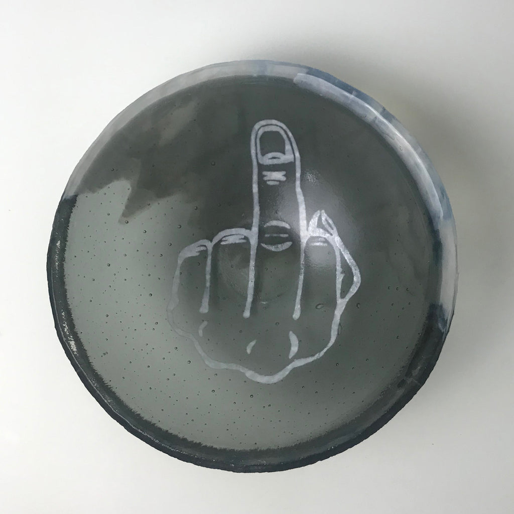 Middle Finger Small Bowl