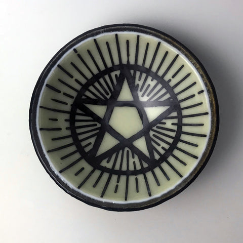 Witchy Pentagram Small Bowl