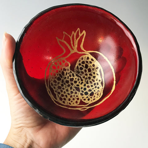 Pomegranate Small Bowl