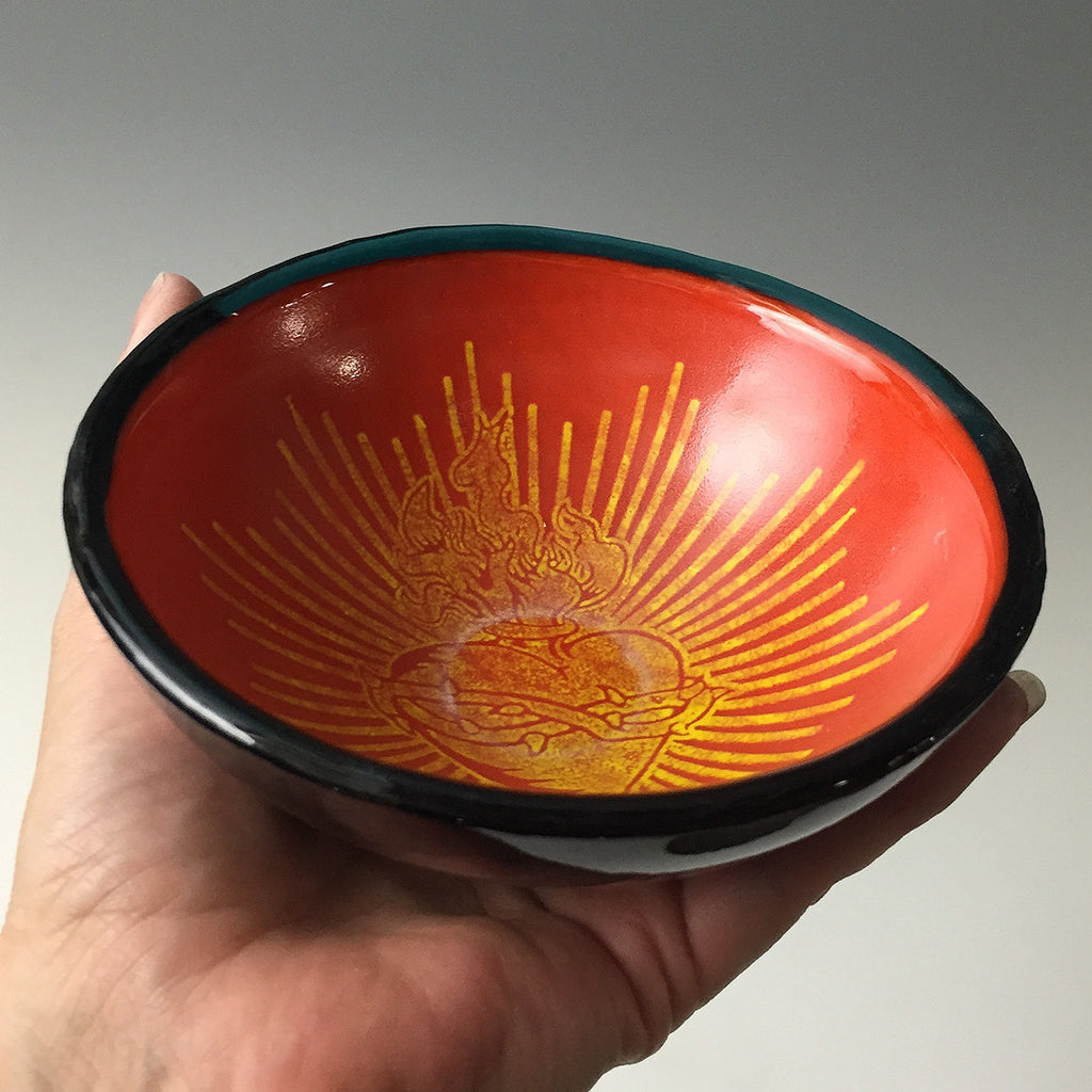 Sacred Heart Small Bowl