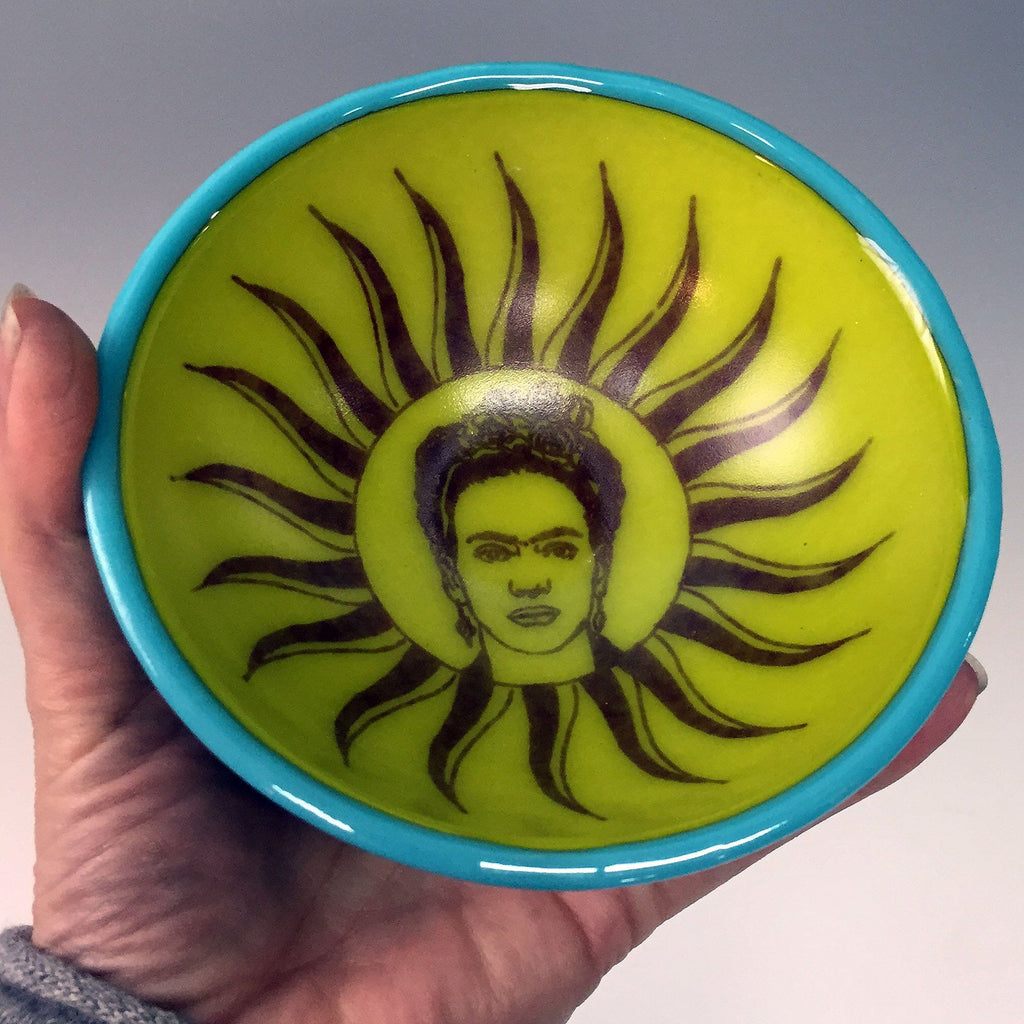 Virgen Frida Small Bowl