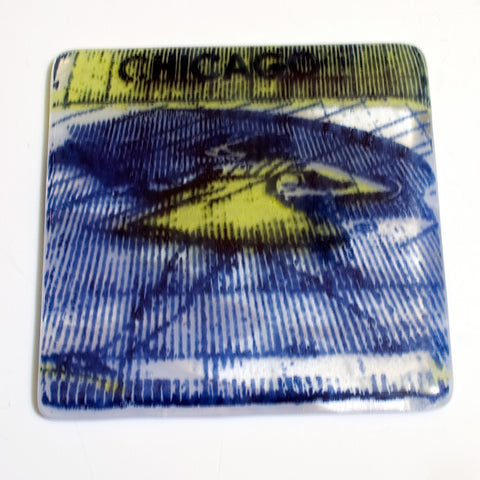 "Chicago ""Morton Salt"" Single Coaster"