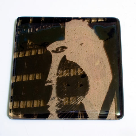"Chicago ""Picasso"" Single Coaster"