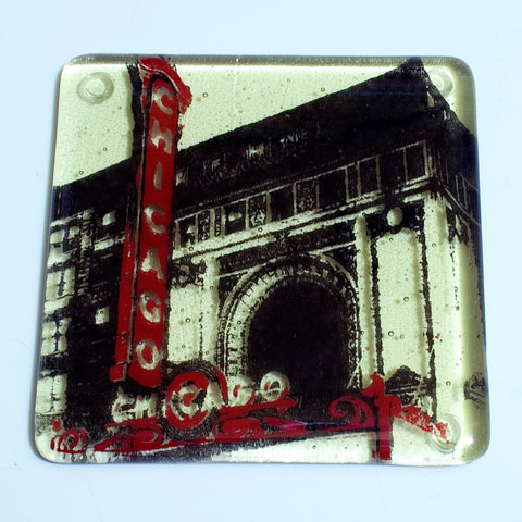 "Chicago ""Theater"" Single Coaster"