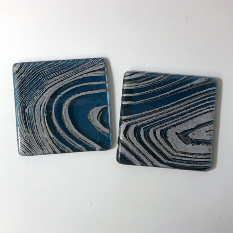 Agate Coaster 2-pack