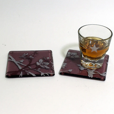 Cherry Blossom Coaster 2-pack