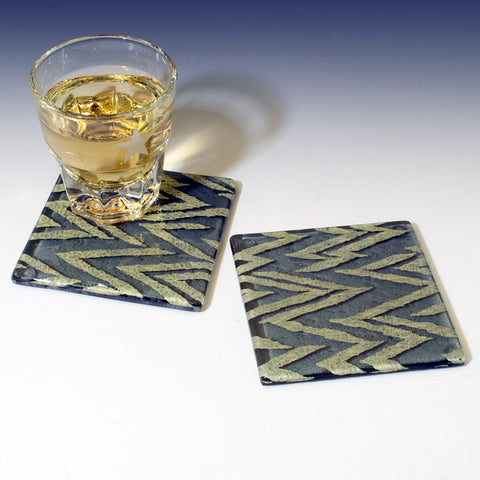 Chevron Coaster 2-pack