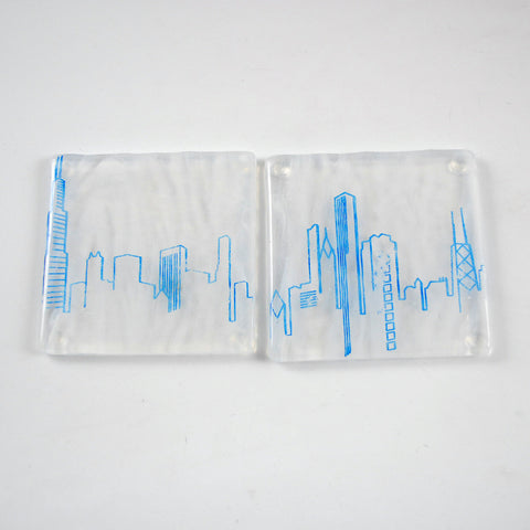 Chicago Skyline Coaster 2-pack