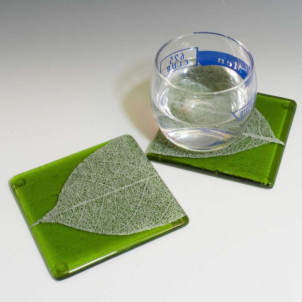 Leaves Coaster 2-pack