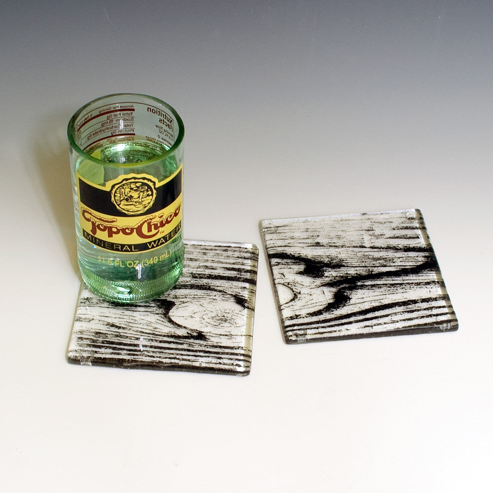 Woodgrain Coaster 2-pack