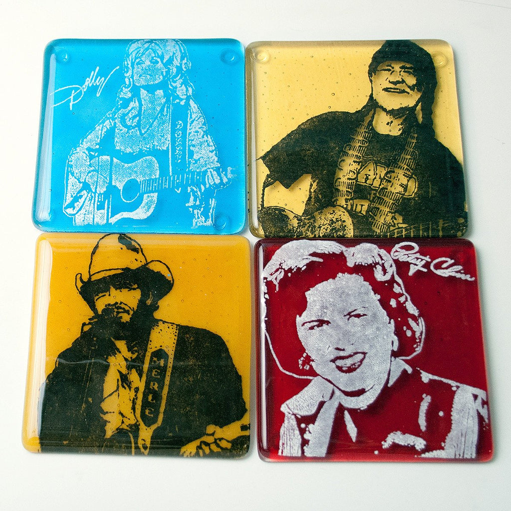 Country Coaster 4-pack