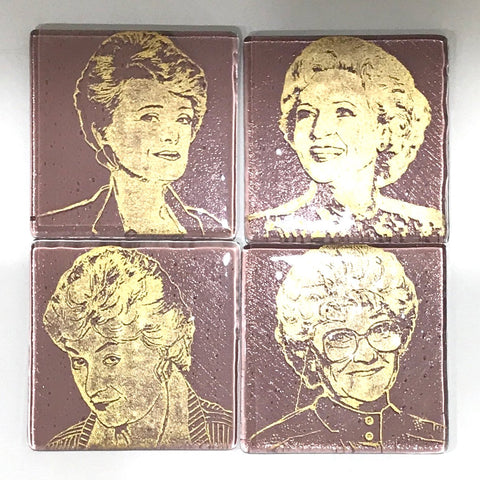 Rue McClanahan from the Golden Girls Single Coaster