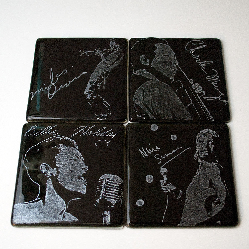 Jazz Series 1 Coaster 4-pack