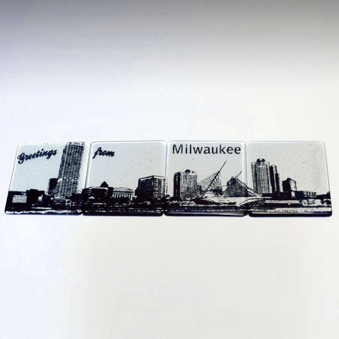 Milwaukee Skyline Coaster 4-Pack MADE TO ORDER