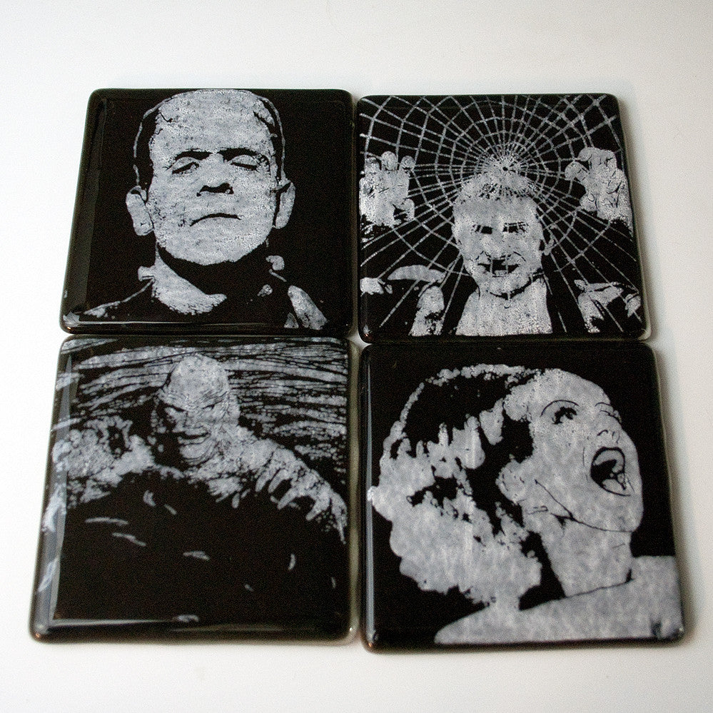 Monsters Series 1 Coaster 4-pack