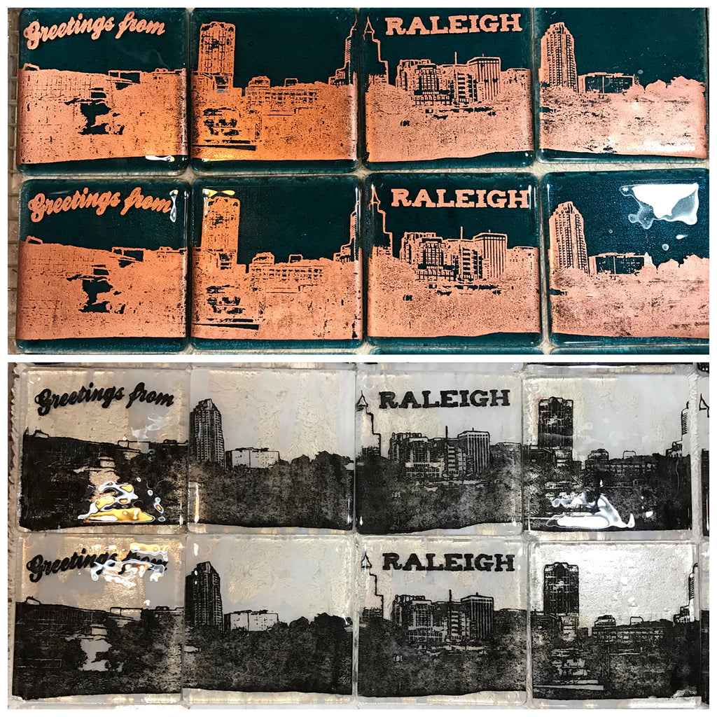 Raleigh Skyline Coaster 4-Pack MADE TO ORDER