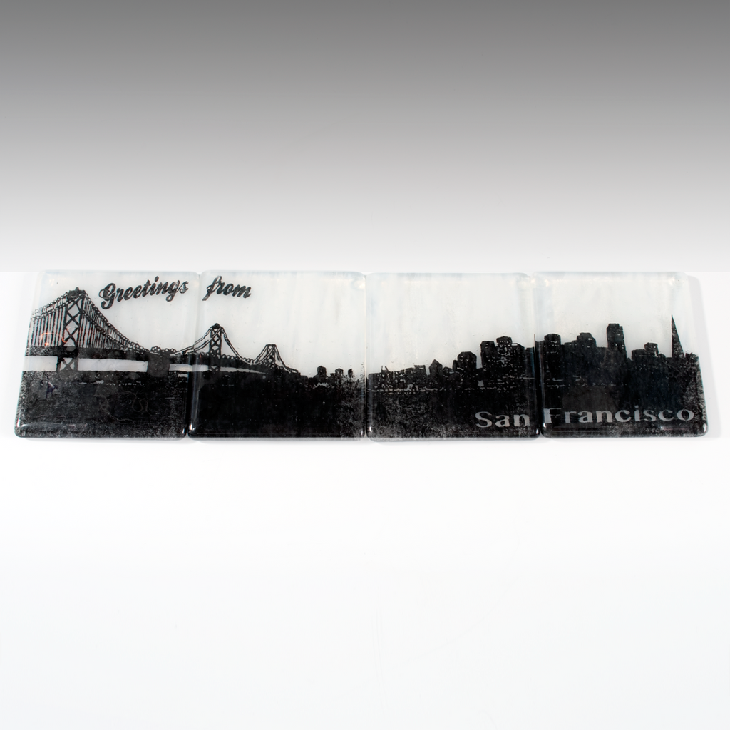 San Francisco Skyline Coaster 4-Pack MADE TO ORDER