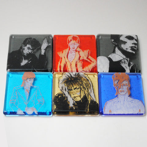 David Bowie Coaster 6-pack