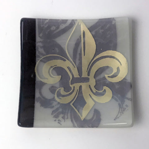 Fleur-de-lis Catch-all Dish