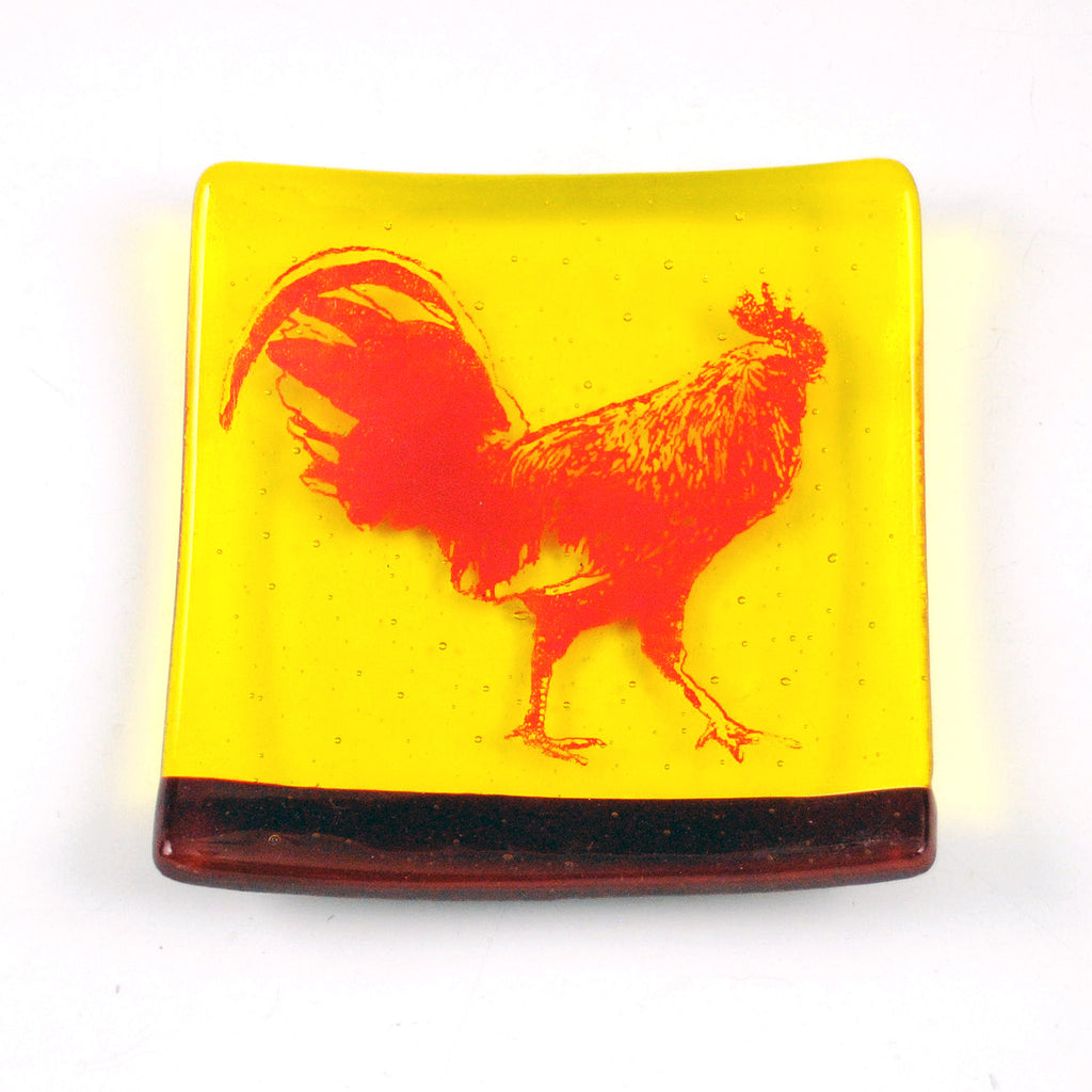 Rooster Catch-all Dish