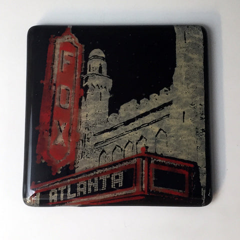 "Atlanta ""Fox Theater"" Single Coaster"