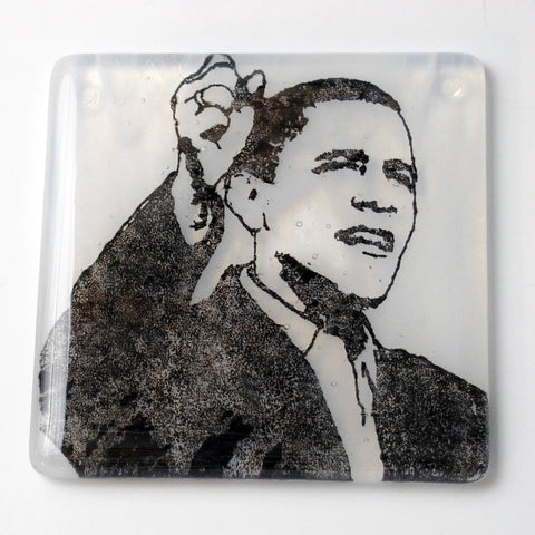Barack Obama Single Coaster