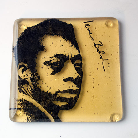 James Baldwin Single Coaster