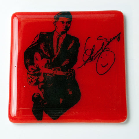Chuck Berry Single Coaster