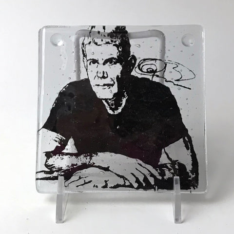 Anthony Bourdain Single Coaster