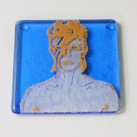 David Bowie Alladin Sane Single Coaster