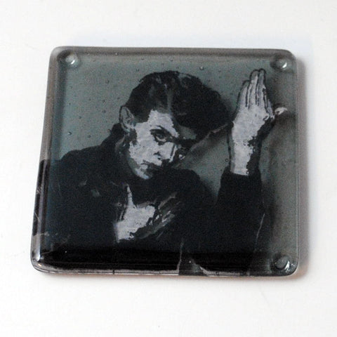 David Bowie Heroes Single Coaster
