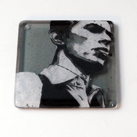 David Bowie Thin White Duke Single Coaster