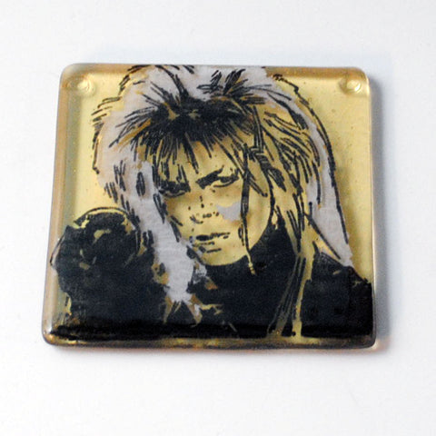 David Bowie Labyrinth Single Coaster