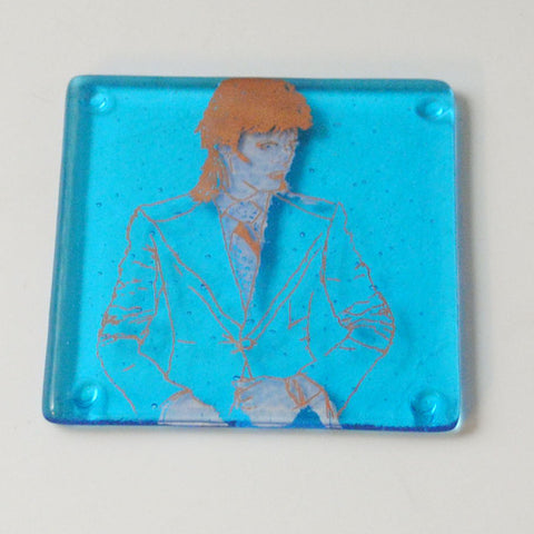 David Bowie Life on Mars Single Coaster