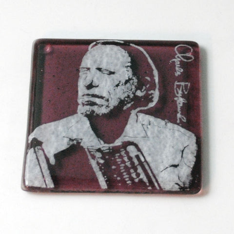 Charles Bukowski Single Coaster