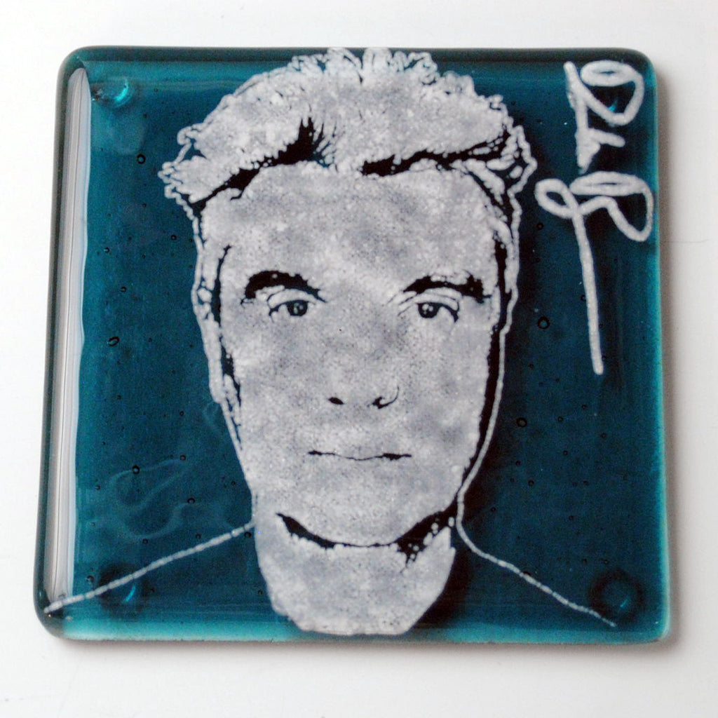 David Byrne Single Coaster