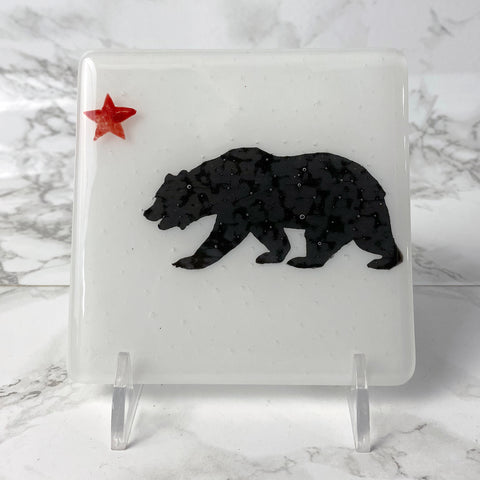 California State Flag Single Coaster
