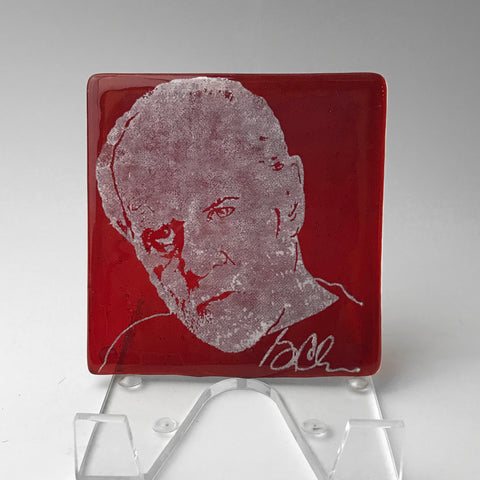 George Carlin Single Coaster