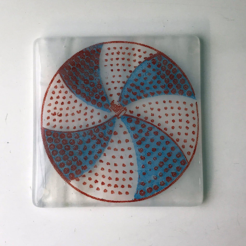Chicago White Sox Pinwheel Single Coaster