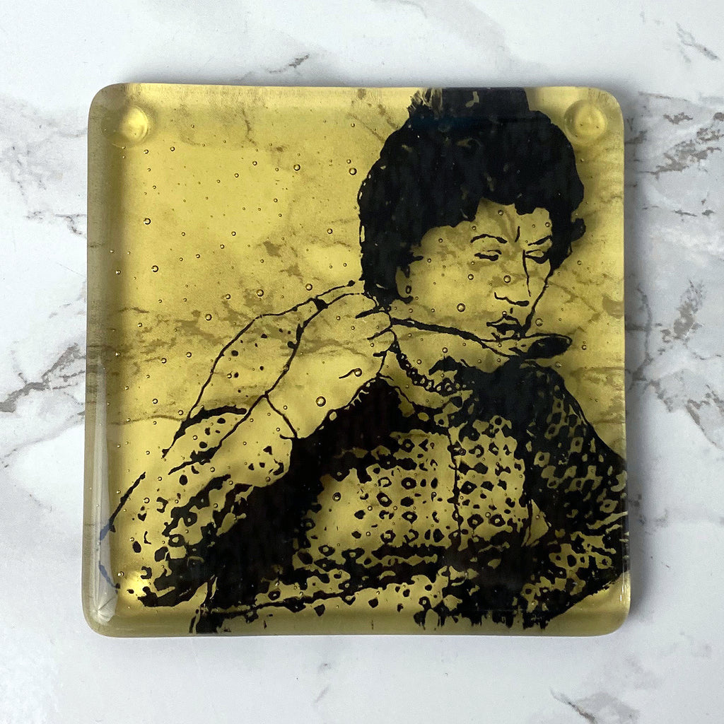Julia Child Single Coaster