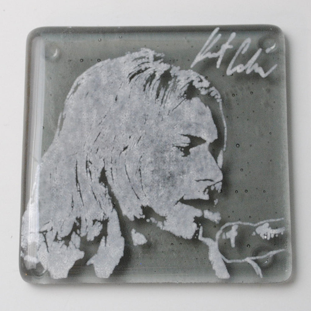 Kurt Cobain Single Coaster