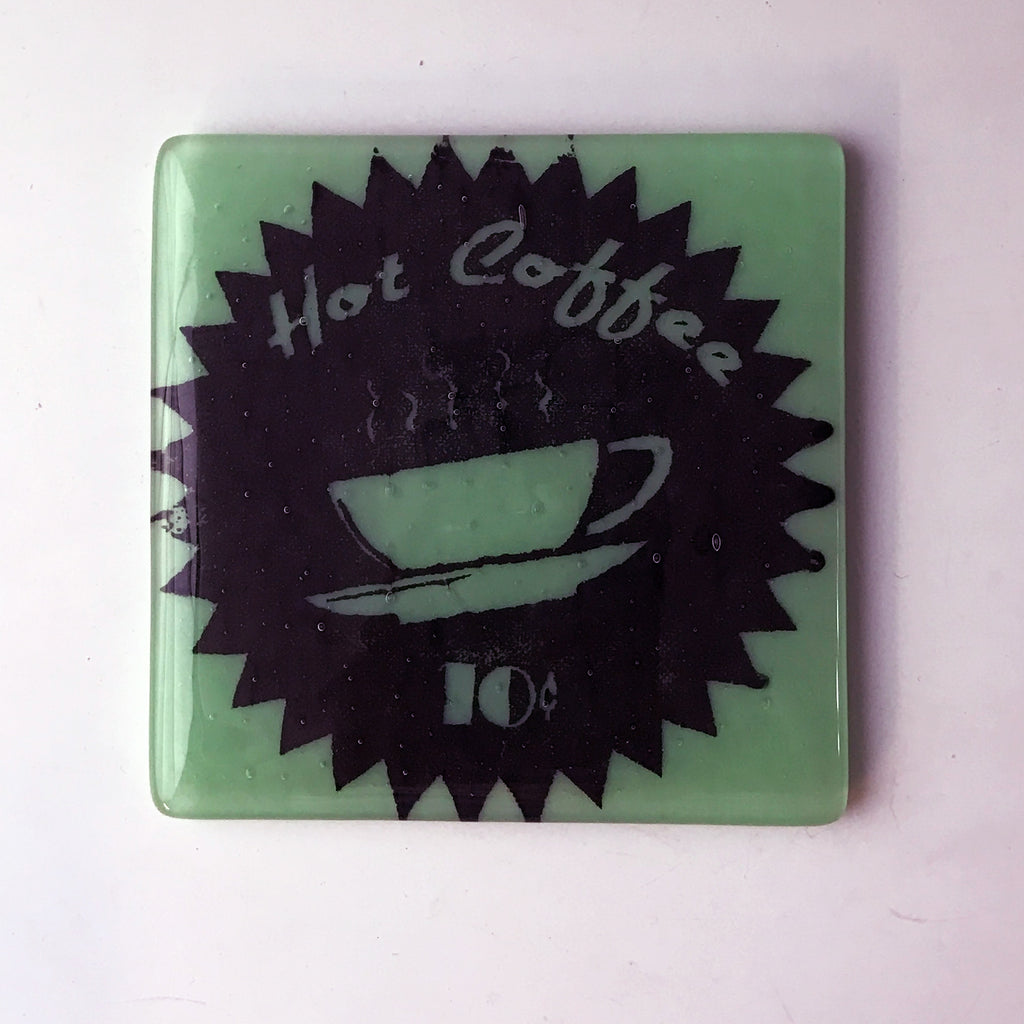Hot Coffee Single Coaster
