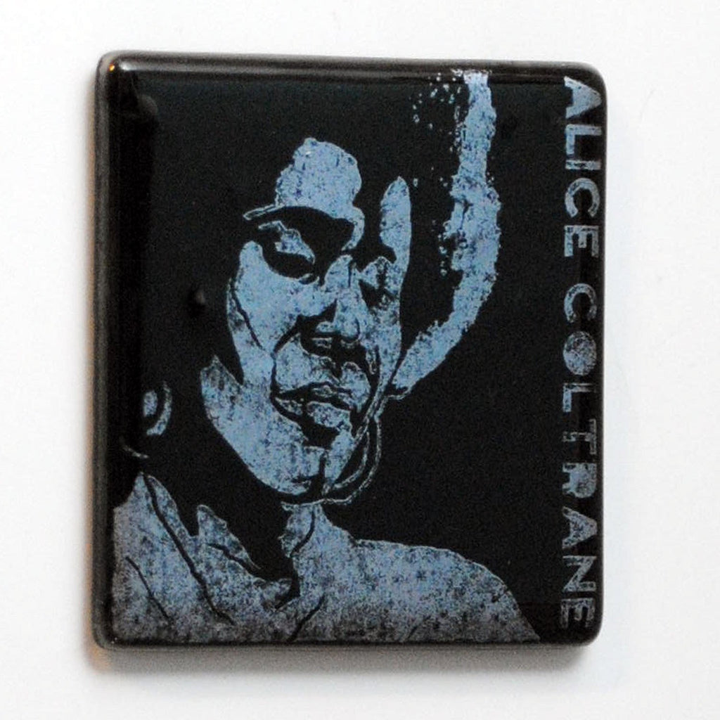 Alice Coltrane Single Coaster