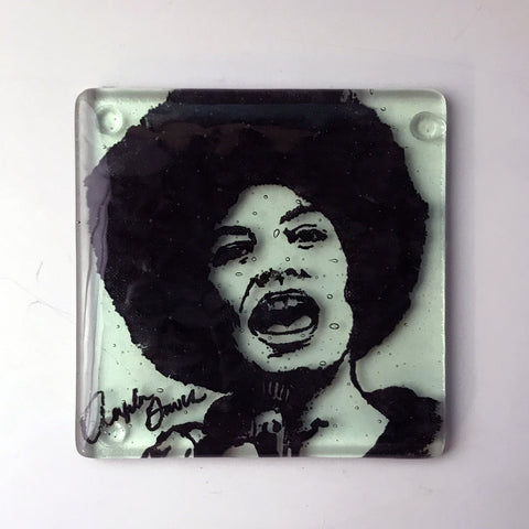 Angela Davis Single Coaster