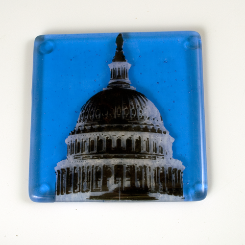 "Washington DC ""Capitol"" Single Coaster"