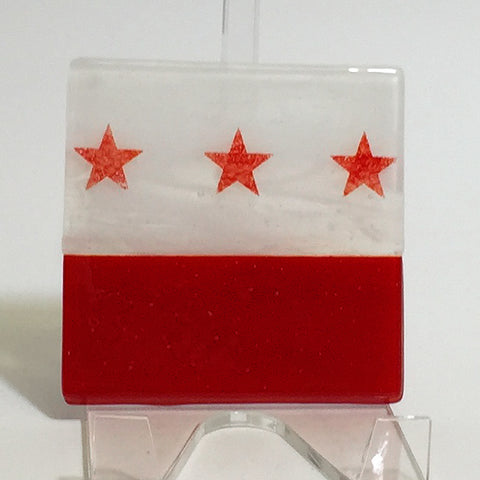 Washington DC Flag Single Coaster