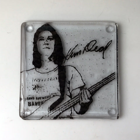 Kim Deal Single Coaster