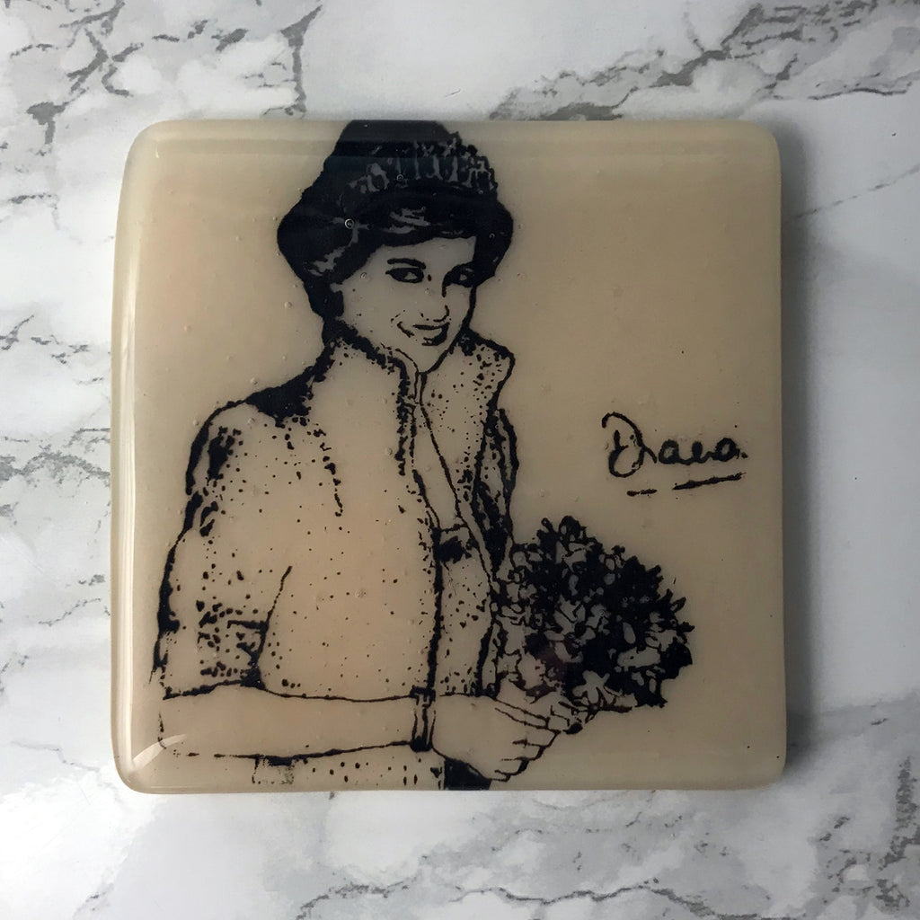 Princess Diana Single Coaster