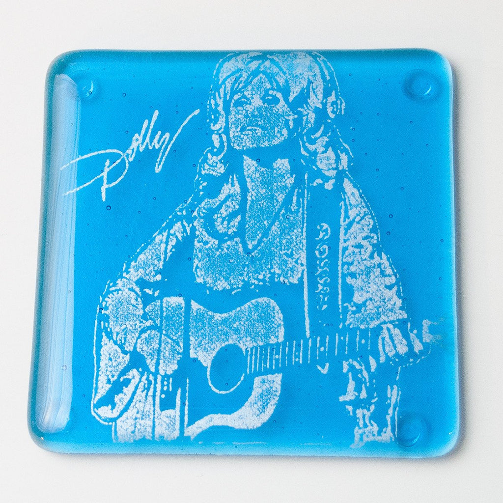 Dolly Parton Single Coaster