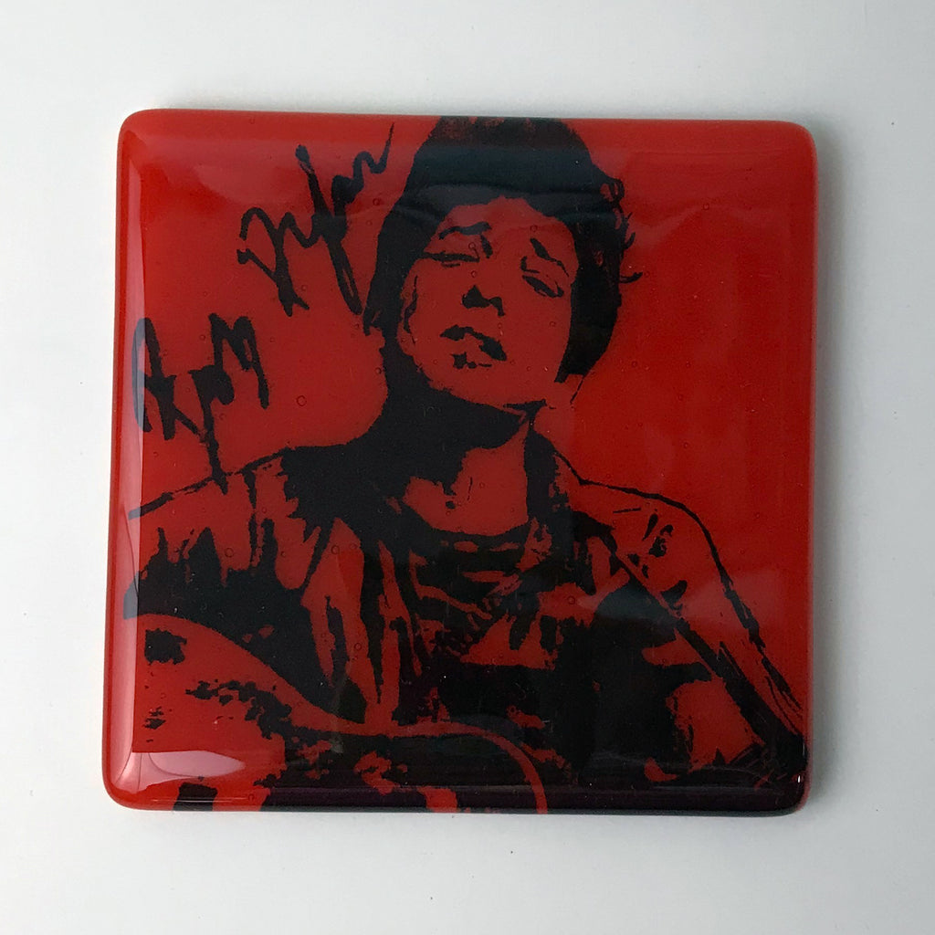 Bob Dylan Single Coaster
